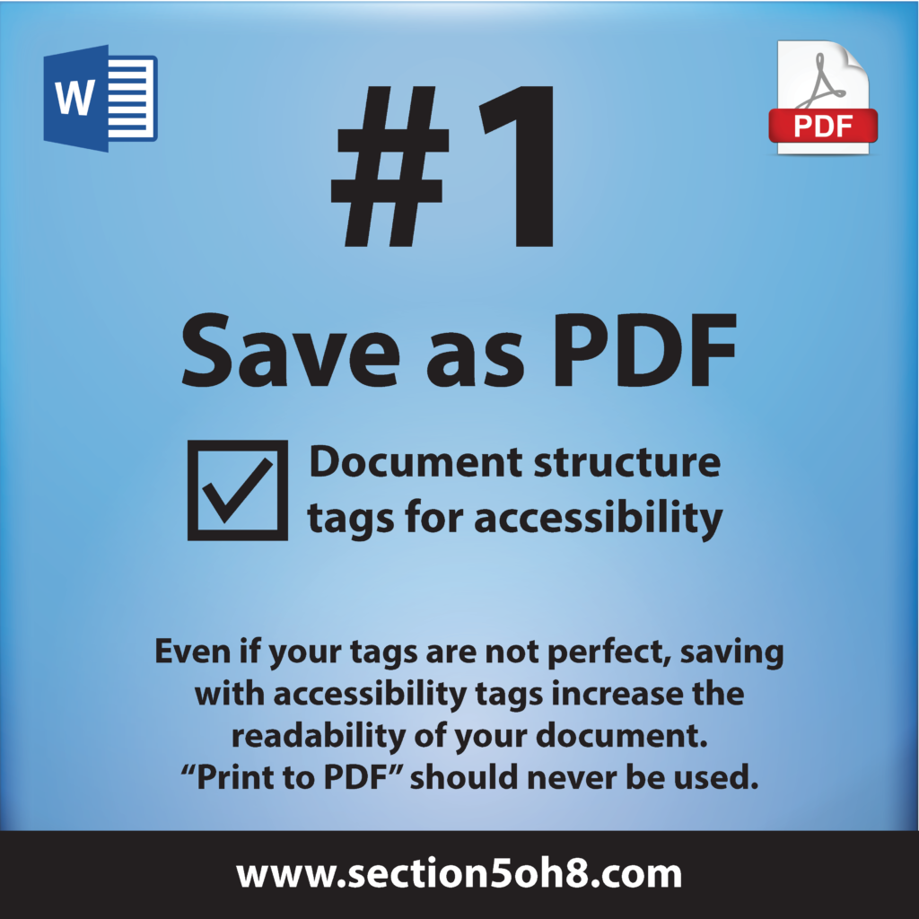 Number One. Save to PDF.