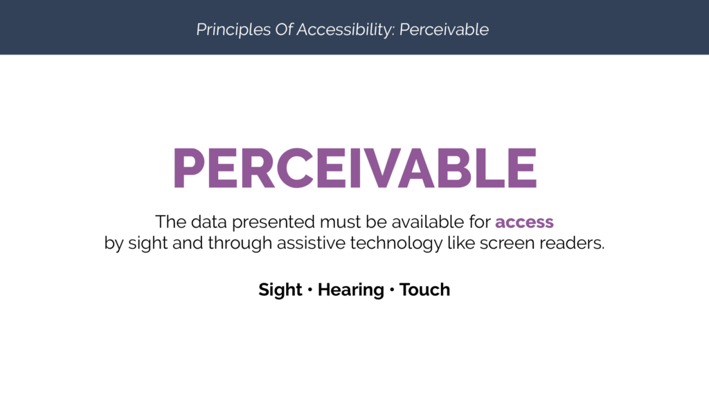 Perceivable